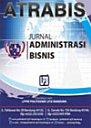 ATRABIS - Jurnal Administrasi Bisnis