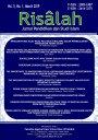 Risâlah, Jurnal Pendidikan dan Studi Islam