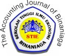 The Accounting Journal of Binaniaga