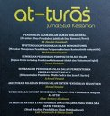 JURNAL AT-TURAS: Jurnal Studi Keislaman