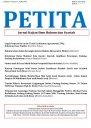PETITA: Jurnal Kajian Ilmu Hukum dan Syariah