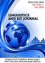 Linguistics and ELT Journal