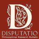 Disputatio. Philosophical Research Bulletin