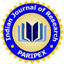 PARIPEX-INDIAN JOURNAL OF RESEARCH