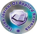 INDIAN JOURNAL OF APPLIED RESEARCH
