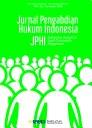 Jurnal Pengabdian Hukum Indonesia (Indonesian Journal of Legal Community Engagement) JPHI