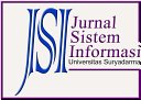JSI (Jurnal sistem Informasi) Universitas Suryadarma