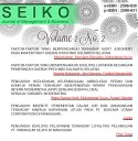 SEIKO : Journal of Management & Business