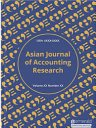 Asian Journal of Accounting Research